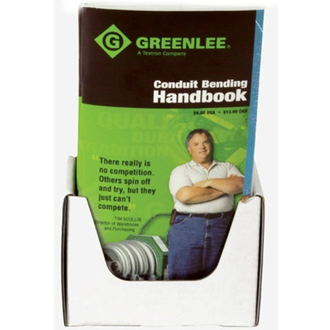 Greenlee 38405 Bending Book