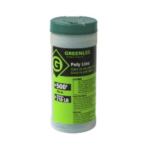 Greenlee 430-500 Poly Line 500 ft. Green Tracer