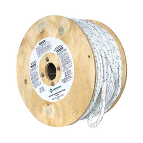 "Greenlee 455 1/2"" x 300' Double Braided Pulling Rope"