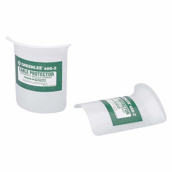 """For Use in 3/"""" thru 6/"""" Conduit Greenlee Cable Protector 488-3"""