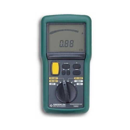 Greenlee 5882-C Digital/Analog Megohmmeter - Calibrated