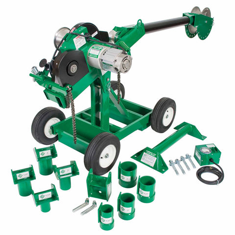 Greenlee 6004 Super Tugger Complete Puller Package  6500 lb.