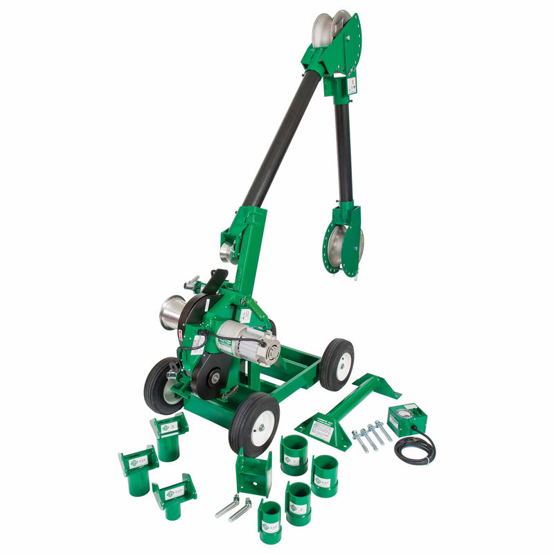Greenlee 6005 Super Tugger Complete Puller Package - 6500 lbs.