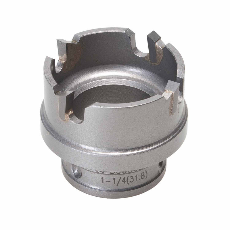 "Greenlee 645-1-1/4 1-1/4"" Quick Change Stainless Steel Carbide-Tipped Hole Cutter"