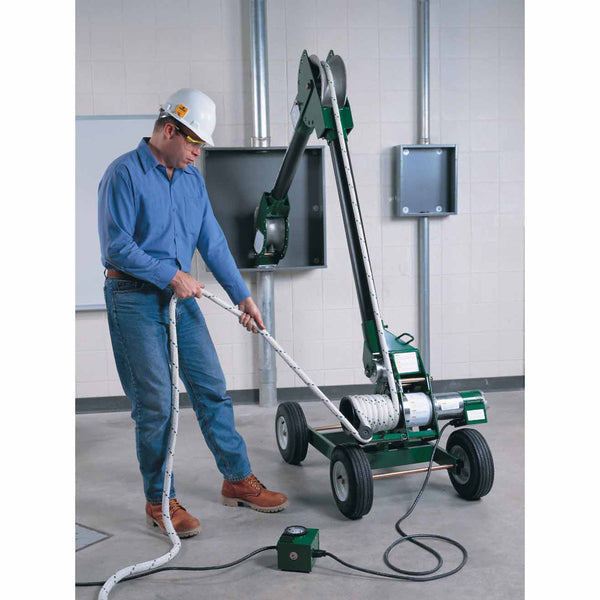 Greenlee 6800 Ultra Tugger 8 Cable Puller With Floor Mount