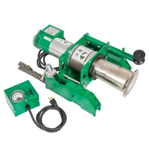 Greenlee 6801 Ultra Tugger 8 Cable Puller with Conduit Chain Mount - 8000lb.