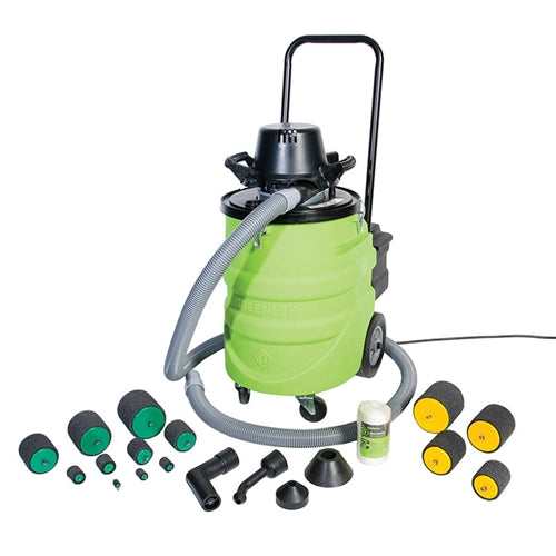 Greenlee 690-15 690 Power Fishing System Vacuum/Blower Kit with 15 ft. Hose