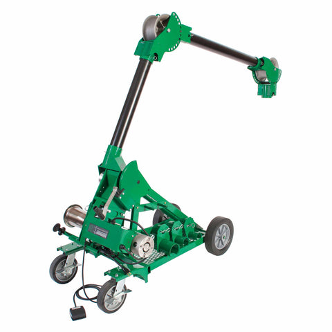 Greenlee 6906 UT10-2S 2-Speed Cable Puller with Mobile VersiBoom