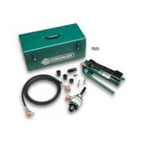 Greenlee 7610SB Slug-Buster Ram and Foot Pump Hydraulic Driver Kit