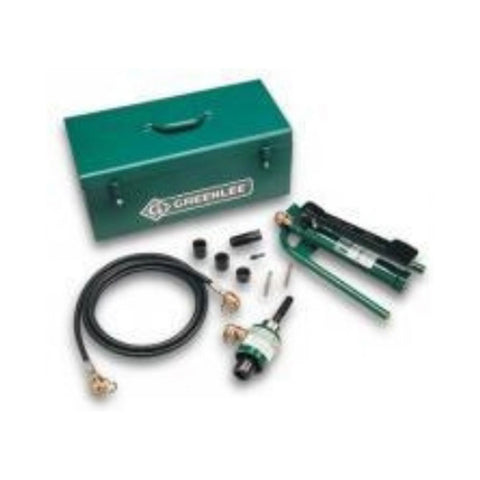 Greenlee 7625 Slug-Buster Ram and Foot Pump Hydraulic Driver Kit