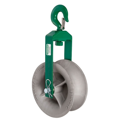 "Greenlee 8012 12"" Hook Sheave"