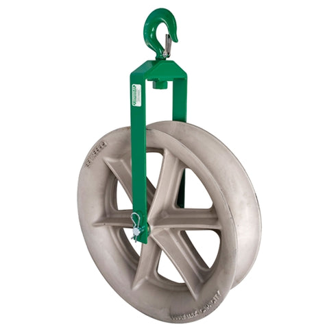 "Greenlee 8024 24"" Hook Sheave"