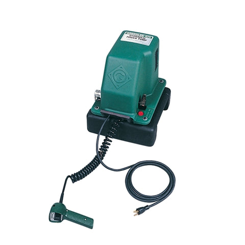 Electric Hydraulic Pump >> Greenlee 975 Electric Hydraulic Pump Greenlee Store