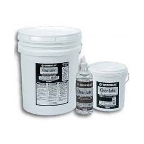 "Greenlee CLR-5 Clear Lube""¢ Pulling Lubricant - 5 gallon"