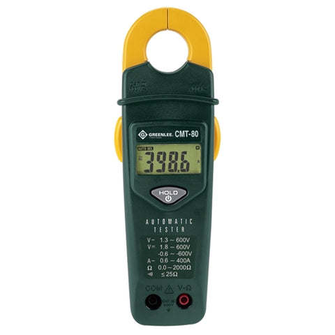 Greenlee CMT-80 Automatic Electrical Tester (Voltage, Continuity, Amperage Meter)
