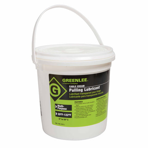 Greenlee CRM-1 Cable-Cream Cable Pulling Lubricant - 1 Gallon