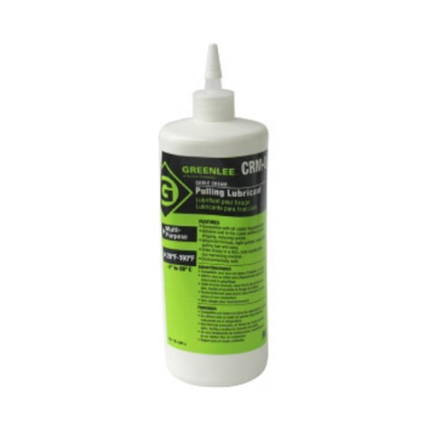 Greenlee CRM-Q Cable-Cream Cable Pulling Lubricant - 1 Quart