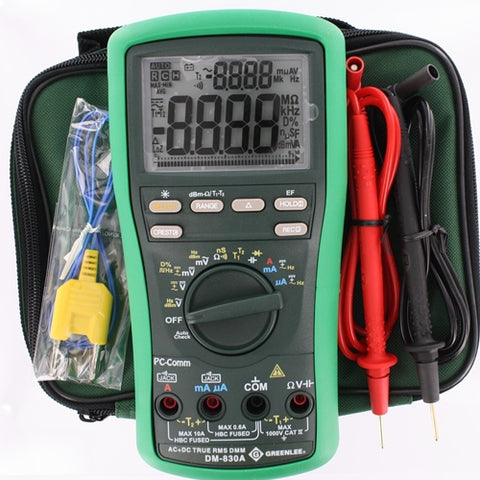Greenlee DM-830A 1000 Volt AC/DC Digital Multimeter