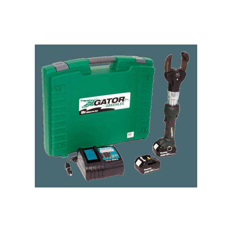 "Greenlee ESC50LX11 2"" Cutter w two 4.0 AH Batteries, 120V Charger & Case"
