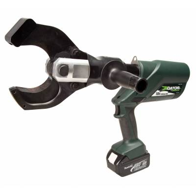 Greenlee ESC85L11 18V Battery-Powered Cable Cutter with 120V Charger and Case