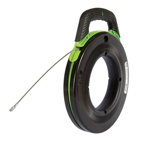 "Greenlee FTS438DL-150 SmartMARK""¢ 150' Laser Eteched Steel Fish Tape with SpeedFlex® Leader"