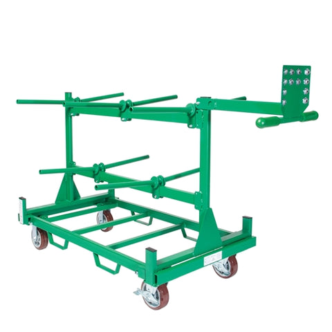 Greenlee GMX-910K Wire Dispenser Cart Kit