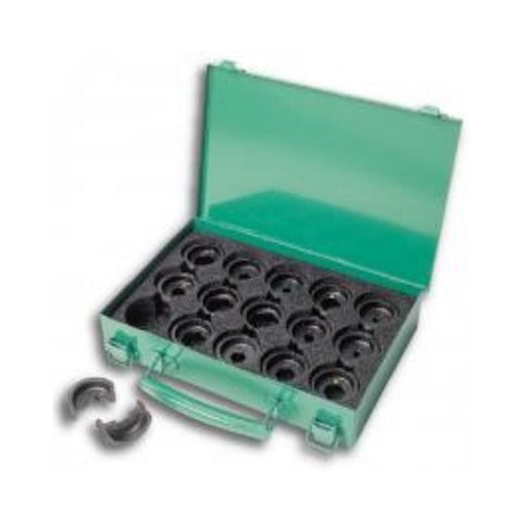 Greenlee KD06AL 6-Ton Crimping Die Kit #8-350 Aluminum Connectors