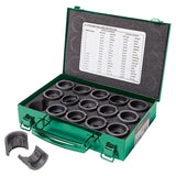 Greenlee KD12CU 12-Ton Crimping Die Kit for #6 - 750 Copper Connectors