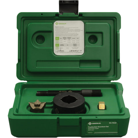 Greenlee KS-PB30 Push Button Set 30.5 mm