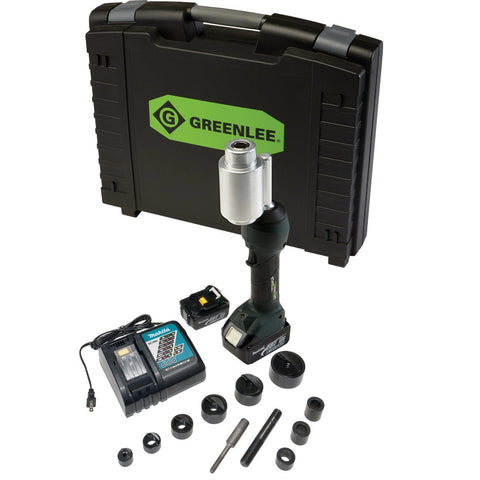"Greenlee LS100X11SB INTELLIPUNCH 11-Ton Set, SB 1/2"" - 2"""