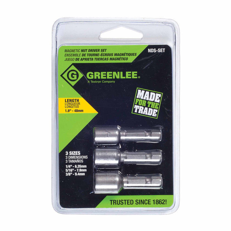 Greenlee NDS-SET Magnetic Nut Driver Set