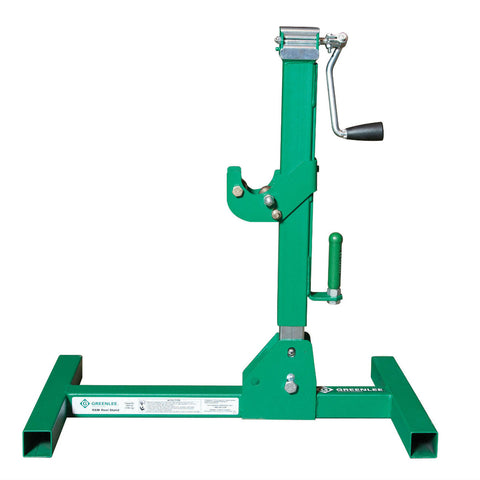 "Greenlee RXM Reel Stand, 6000 lb Capacity, 23"" - 72"" Spool"
