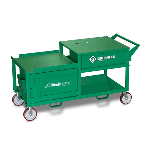Greenlee WK100 Workhorse All-In-One Bending and Threading Workstation