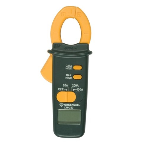 Greenlee CM-330 Clampmeter, 400A AC