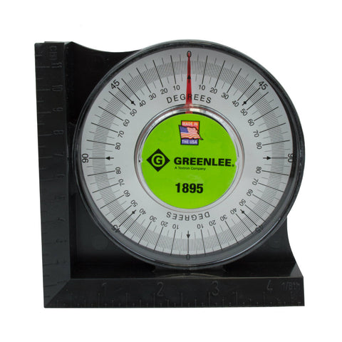 Greenlee 1895 Protractor with Magnetic Base