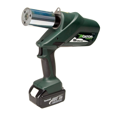 Greenlee LS60LB11 Battery Punch Driver-120 Volt Charger with 1/2€? through 2€? Slug-Buster® conduit s