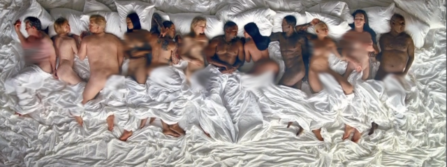 "Kanye West Debuts ""Famous"" Music Video At Los Angeles Event"