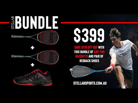 A Terrific Racquet & Shoe bundle