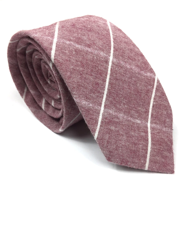 Pink Checkered NeckTie | G+Co. Apparel