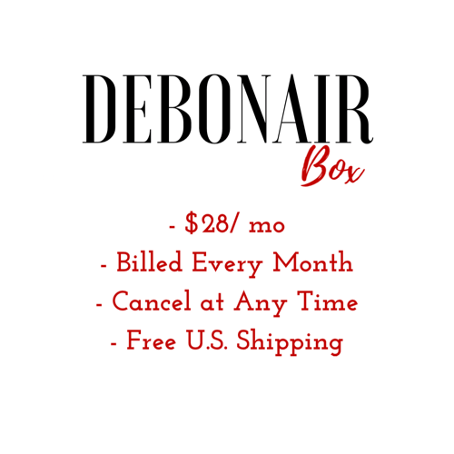Debonair Men's Monthly Subscription Box