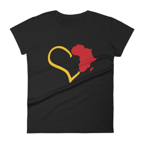 Love Africa Women's T Shirt | G+Co. Apparel