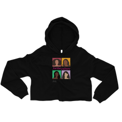 Joan+Co. For the Culture Crop Hoodie