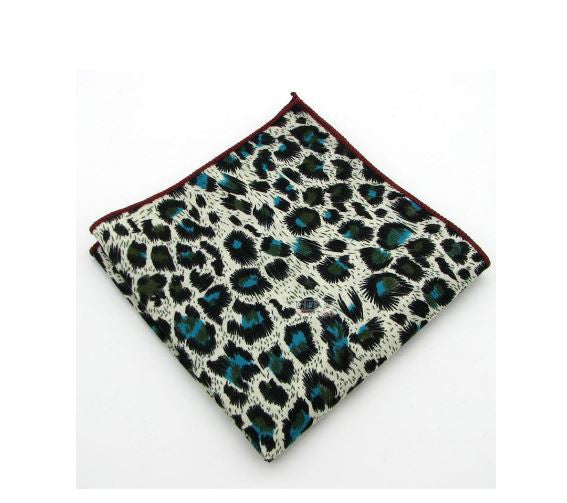 Leopard Print Pocket Square | G+Co. Apparel