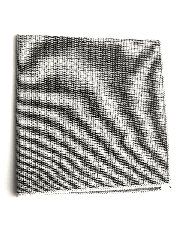 Accessories - Gray Pocket Square