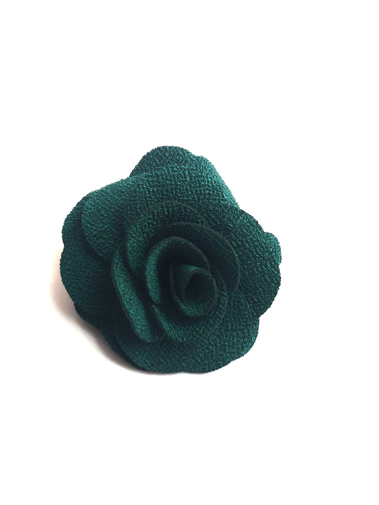 Large Green Flower Lapel Pin | G+Co. Apparel