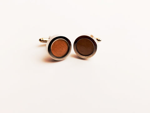 Wood Grain Cufflinks | G+Co. Apparel
