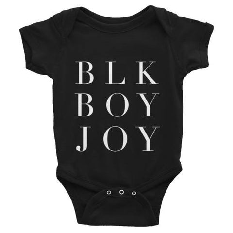 Black Boy Joy Kids Onesie | G+Co. Apparel