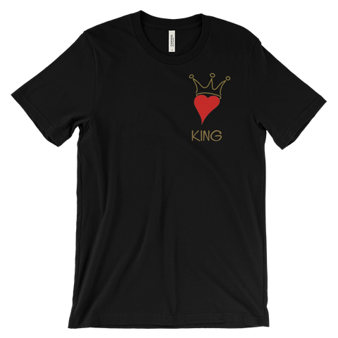 King of Hearts Men's T Shirt | G+Co. Apparel