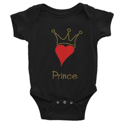 Prince of Hearts Infant Onesie | G+Co. Apparel