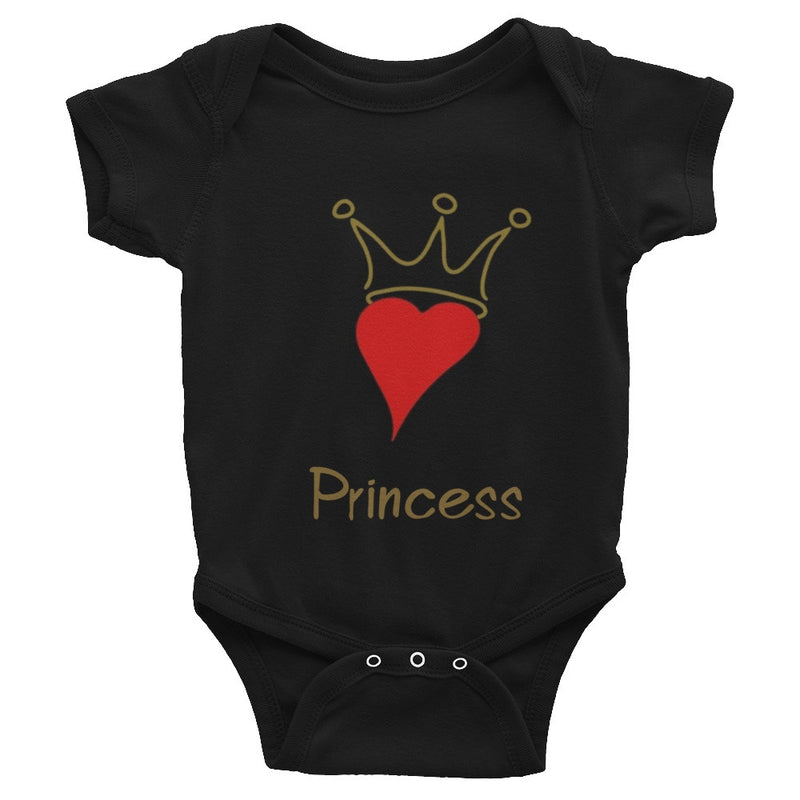 Princess of Hearts Infant Onesie | G+Co. Apparel
